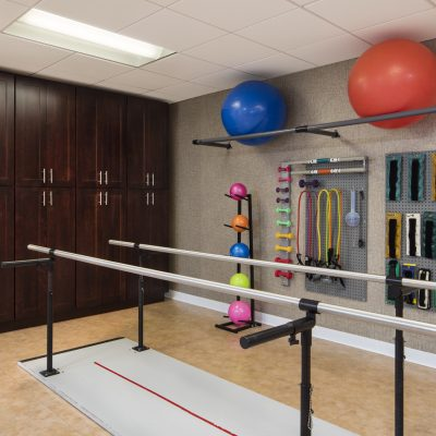 Another glimpse of our rehabilitation gym
